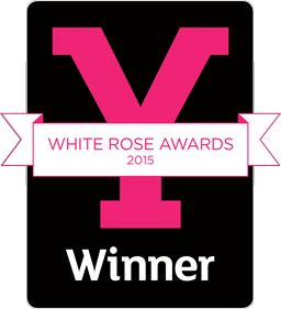 We won a Welcome to Yorkshire White Rose Award 2015